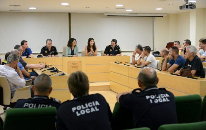Reunió de coordinació i planificació amb la plantilla de Policia Local de Paiporta per a traçar noves línies de treball