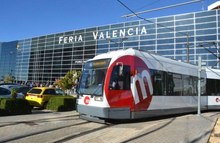 Metrovalencia ofereix serveis especials de tramvia a Fira València per a acudir a SIF, URBS i Festa i Noces