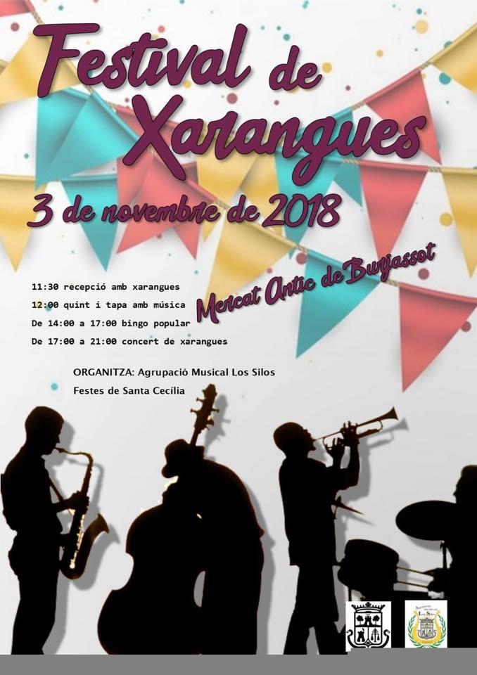 Burjassot: L'Agrupació Musical Les Sitges comença els seus actes en honor a Santa Cecilia amb el Festival de Xarangues