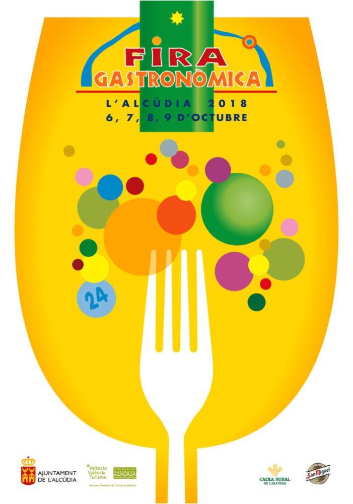 La XXIV Fira Gastronòmica de l'Alcúdia obrirà les portes del 6 al 9 d'octubre