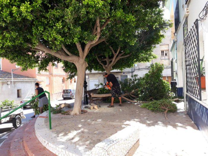Sumacàrcer renova el seu casc urbà amb plans d'ocupació que lluiten contra la desocupació