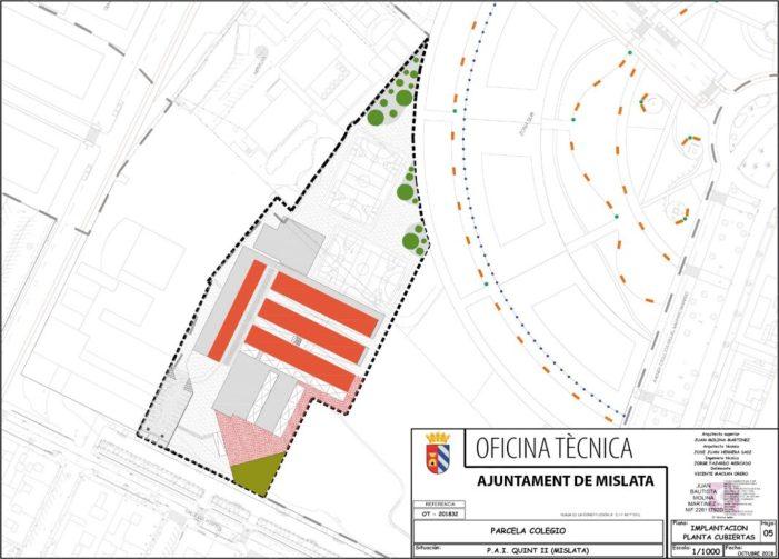 El pla Edificant delega a Mislata la construcció del nou col·legi públic Maestro Serrano per 7,9 milions d'euros