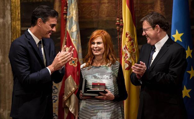 Puig: 'Carmen Alborch va ser una referència per al progrés, per a la modenidad i per a la cultura'