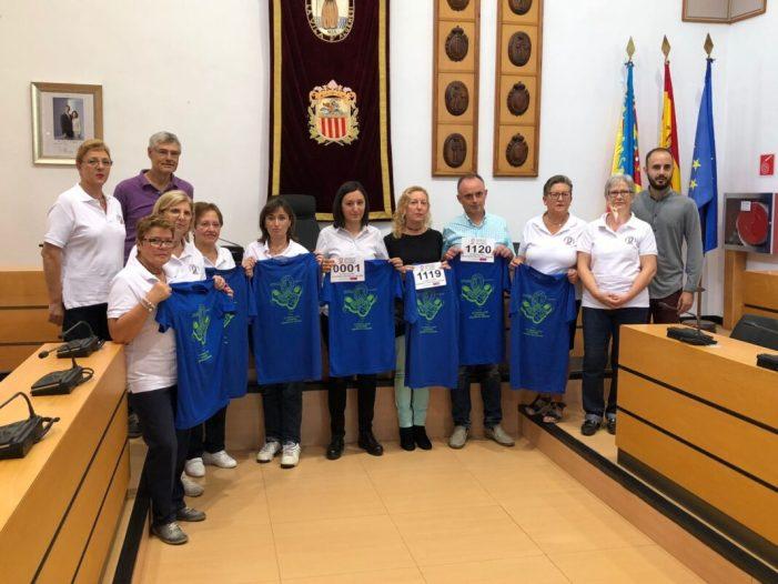 Asocalge organitza la quarta edició de la volta a peu contra el càncer d'Algemesí