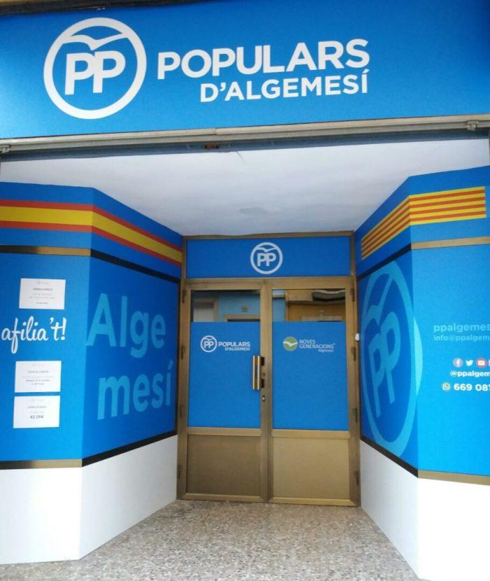 El PP d'Algemesí estrena seu i inicia amb força el nou curs polític