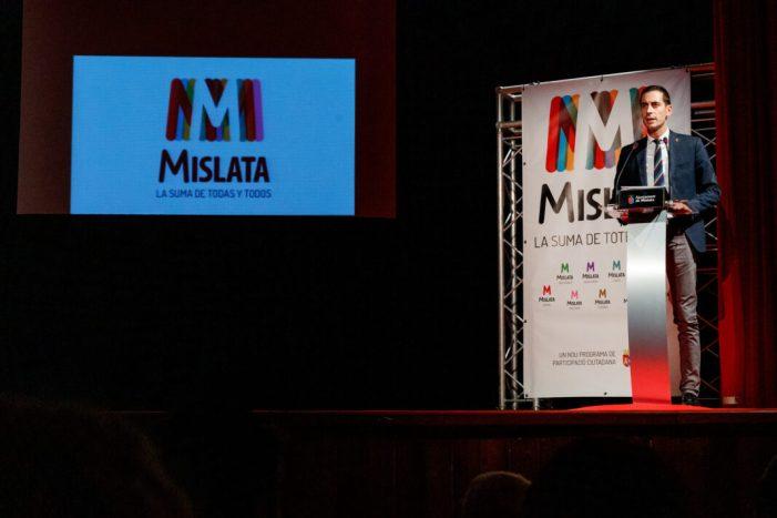 """Mislata presenta el nou procés de participació ciutadana """"La Suma de Totes i Tots"""
