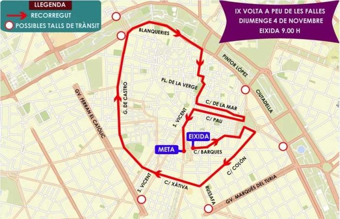L'Ajuntament presenta la IX Edició de la Volta a Peu de les falles