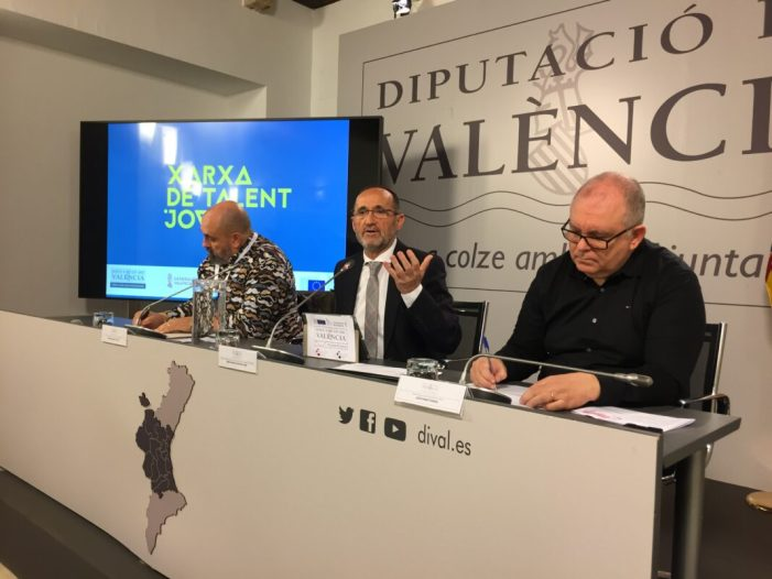 La Diputació impulsa una xarxa de col·laboració públic-privada per a retenir el talent jove junt amb l'IVAJ i Labora