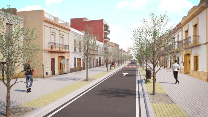 El carrer Major es convertirà en un gran nexe d'unió.