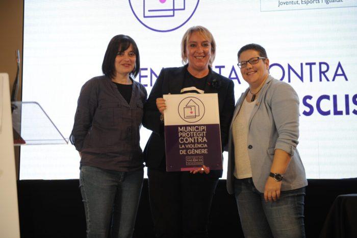 """Benetússer es converteix en """"soci"""" fundador de la Xarxa de Municipis Protegits contra la Violència de Gènere"""