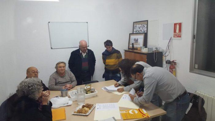 Les associacions La Dinamo i Horts Municipals La Coscollosa signen un conveni de col·laboració