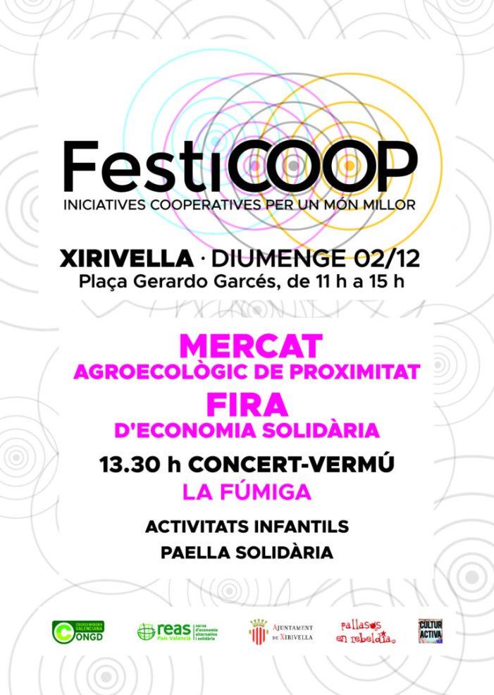 Tot preparat per a celebrar a Xirivella el FestiCOOP
