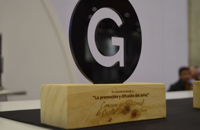 El Concurs Internacional de Paella de Sueca rep el premi a la promoció i a la difusió de l'arròs a la fira Gastrónoma