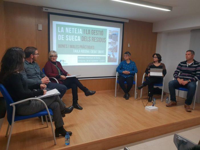 El Consorci Ribera i Valldigna anuncia a Sueca el tractament de la fracció orgànica selectiva i la informatització de l'Ecoparc al 2019