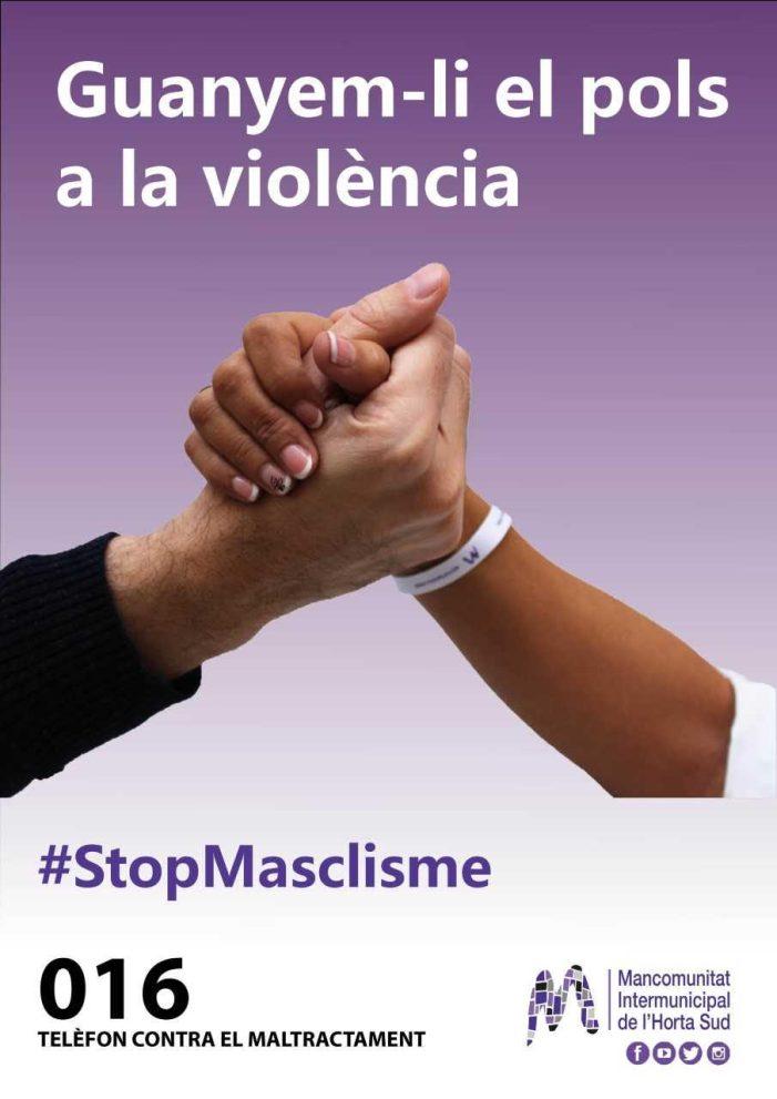 """L'Horta Sud unida per """"Guanyar el pols a la violència de gènere"""""""