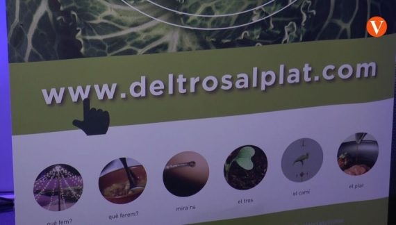 Presentació de la nova plataforma digital de 'Del tros al plat'