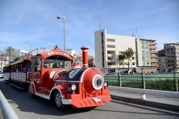 El Tren del Nadal circula pels carrers de Paiporta fins al dia 29