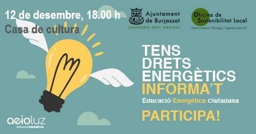 Jornada sobre eficiència energètica en la llar a Burjassot