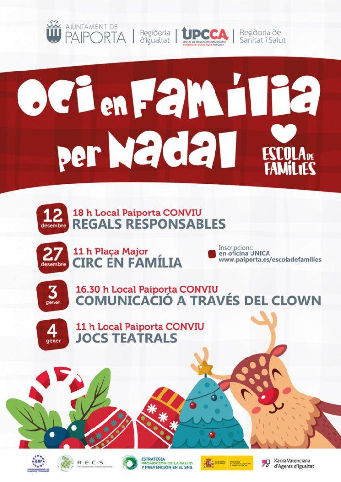 Trobada amb el Consell de la Dona i taller de circ en família a Paiporta