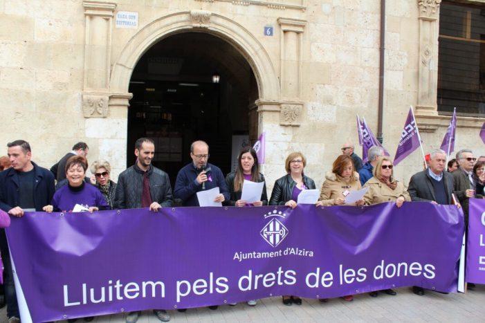 Alzira rebrà 8.654,90 € del Pacto Estatal contra la Violencia de Género