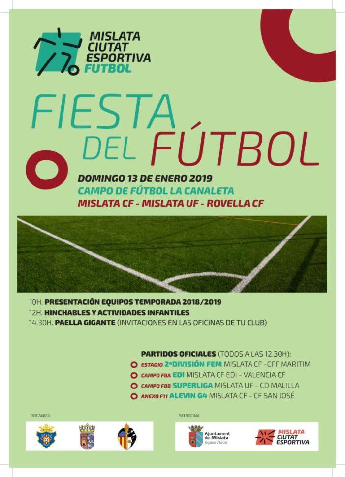 Mislata celebrarà la seua gran festa del futbol