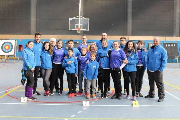 El Club de Tir amb Arc d'Almussafes triomfa en el Campionat Provincial