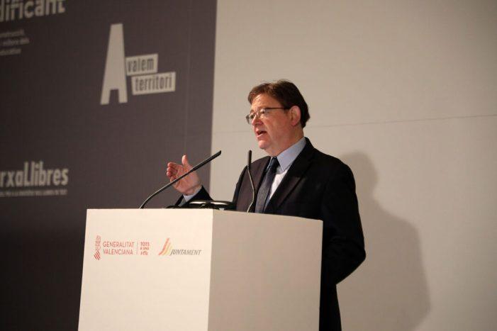 Ximo Puig anuncia un pla per a garantir serveis en municipis en situació d'emergència social o econòmica que contempla 240 milions d'euros fins a 2023