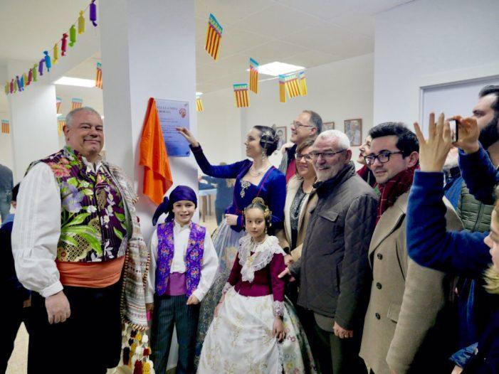 La Falla La Nova d'Alboraia inaugura el seu casal faller