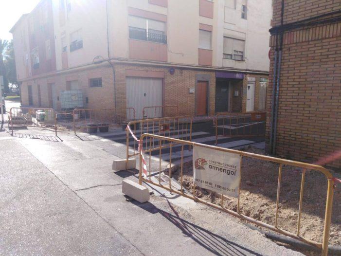 Alzira continua millorant els carrers de la ciutat amb el pla d'accessibilitat