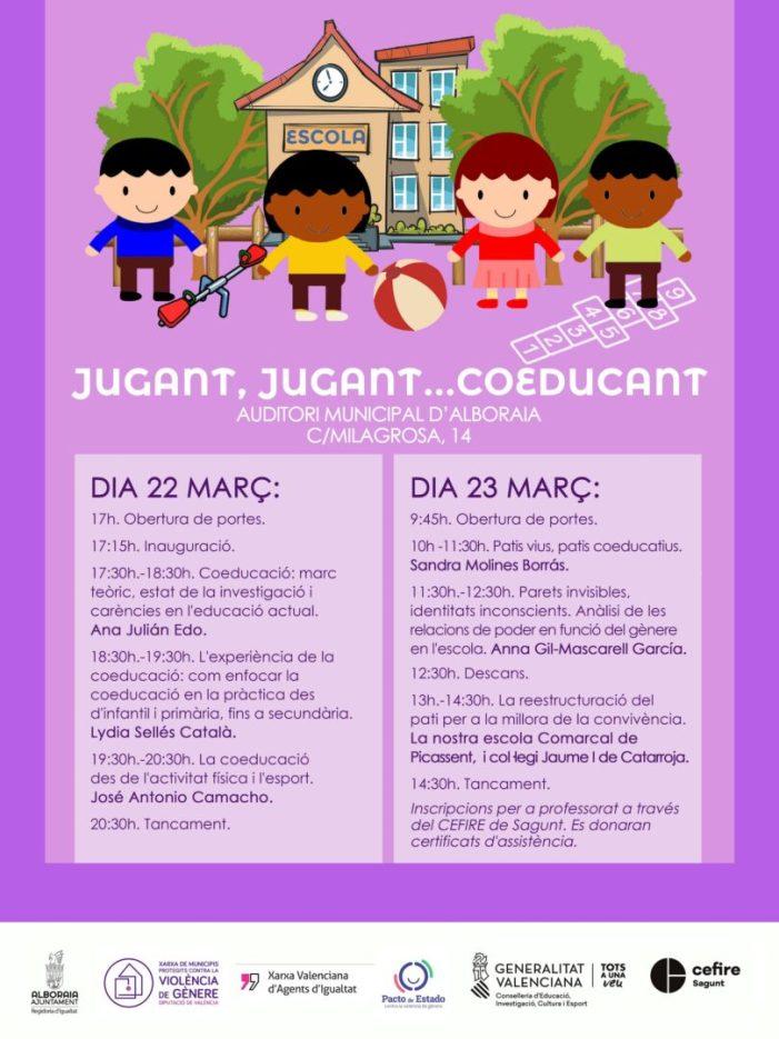 Alboraia celebra la seua primera Jornada sobre Coeducació