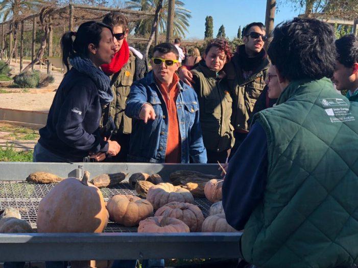 L'alumnat del Taller Municipal de Jardineria de Picassent visita l'Alqueria dels Frares del Port de Sagunt