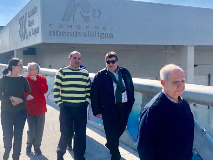 Comencen les visites guiades, per a escolars, a la planta de tractament de residus de Guadassuar