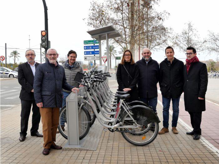 La Xufabike té noves connexions a València