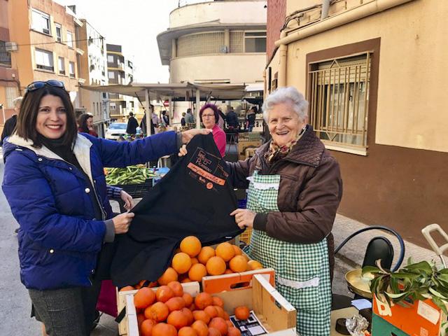 Les parades del mercat ambulant de Picassent tenen nova imatge