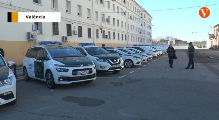 La Guàrdia Civil de València disposa de 32 vehicles nous