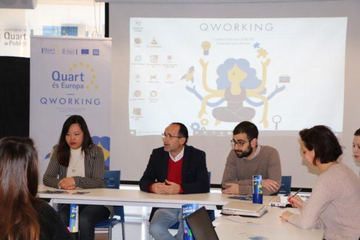 """L'Ajuntament de Quart de Poblet acull el projecte europeu """"VOCCESS Online"""" per l'ocupabilitat juvenil"""