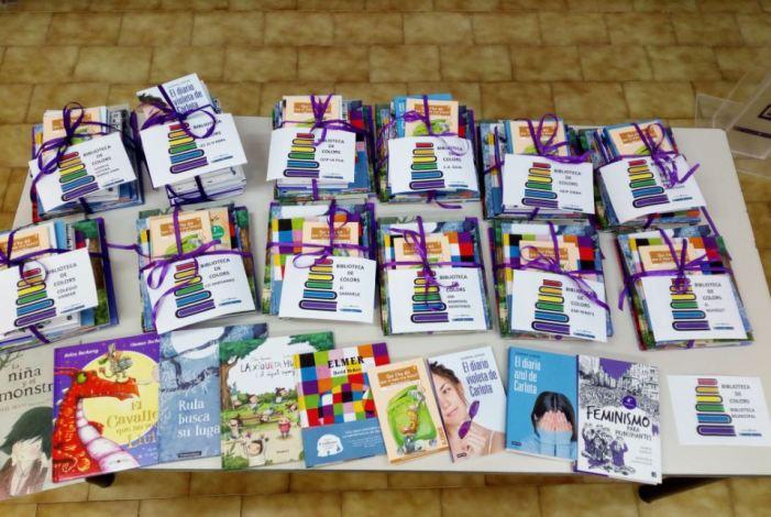 """""""Biblioteca de colors"""": Alfafar estrena un programa de lectura que fomenta la igualtat i la diversitat sexual i familiar"""