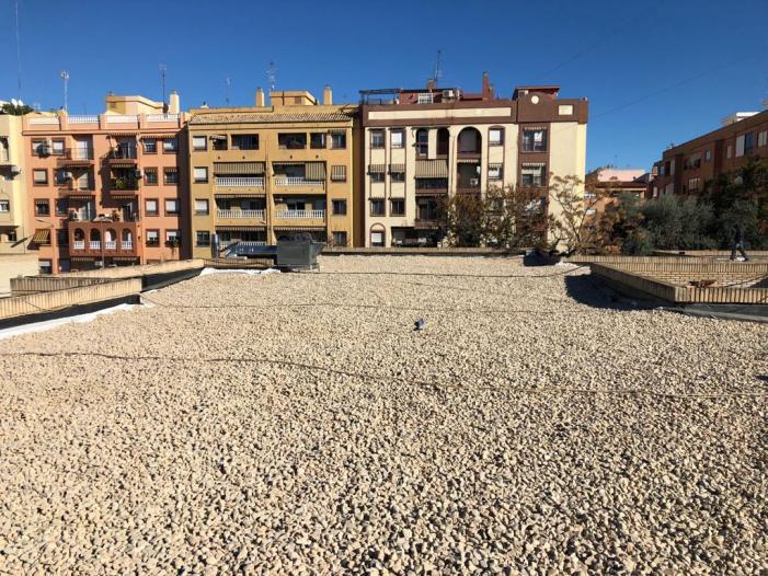 Acabades les obres en el CEIP Villar Palasí de Burjassot per a la substitució de la seua coberta i accions de conservació i manteniment