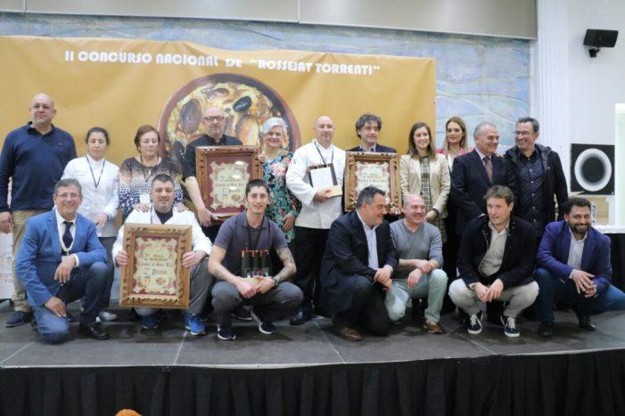 El restaurant El Rossinyol, de Nàquera, primer premi del concurs nacional de rossejat torrentí