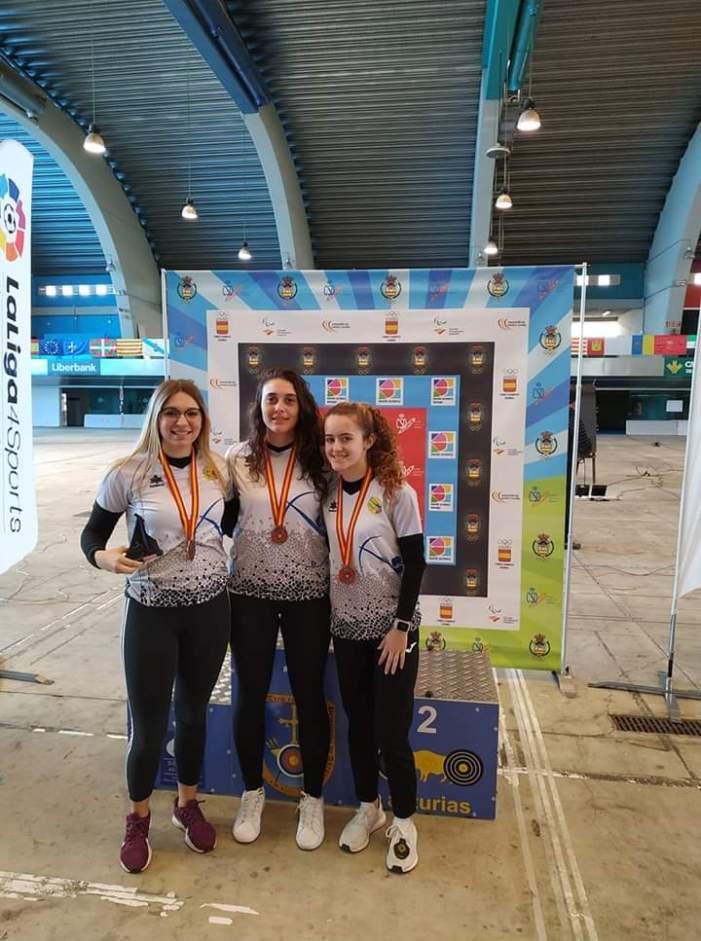 L'arquera almussafenya Nerea López, bronze en el Campionat d'Espanya