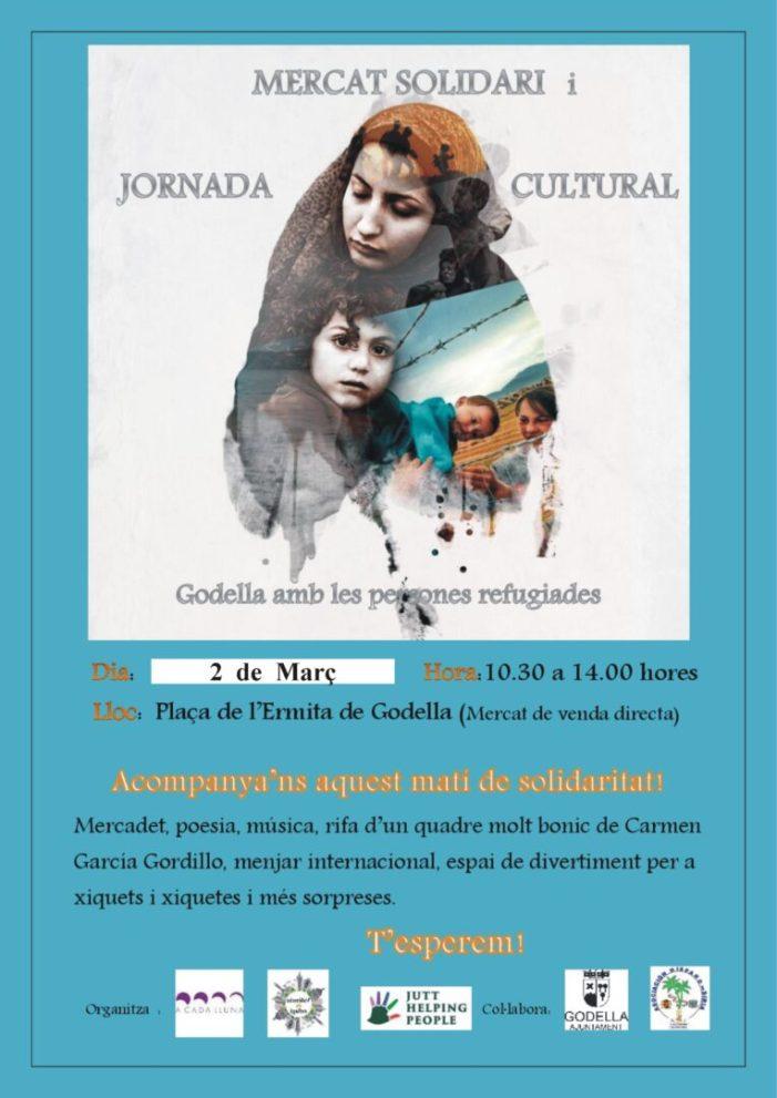 El 2 de març, acte solidari a favor de les persones refugiades al mercat de venda directa