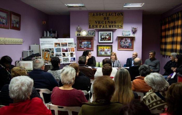 Més de 500.000 euros invertirà la Conselleria d'Habitatge al barri de Les Palmeres  de Picassent