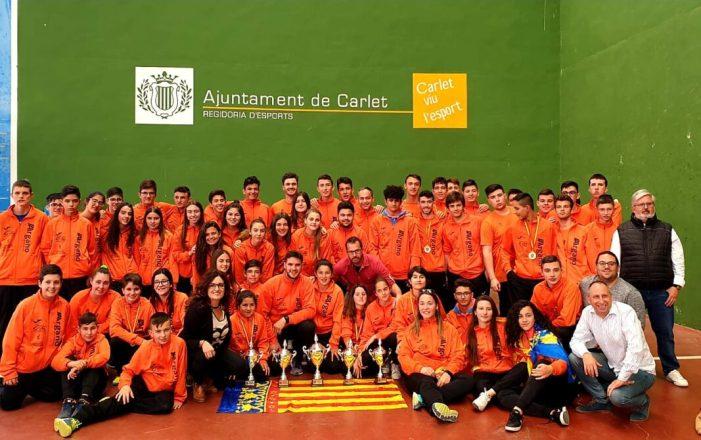 L'equip valencià de frontenis es proclama campió a Carlet