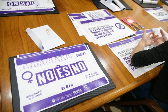 L'Ajuntament promou una campanya per la igualtat i el consum responsable en les falles de Paiporta