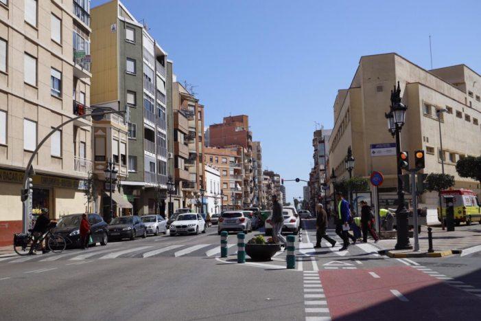 Menys accidents i contaminació acústica en la Diagonal de Cullera