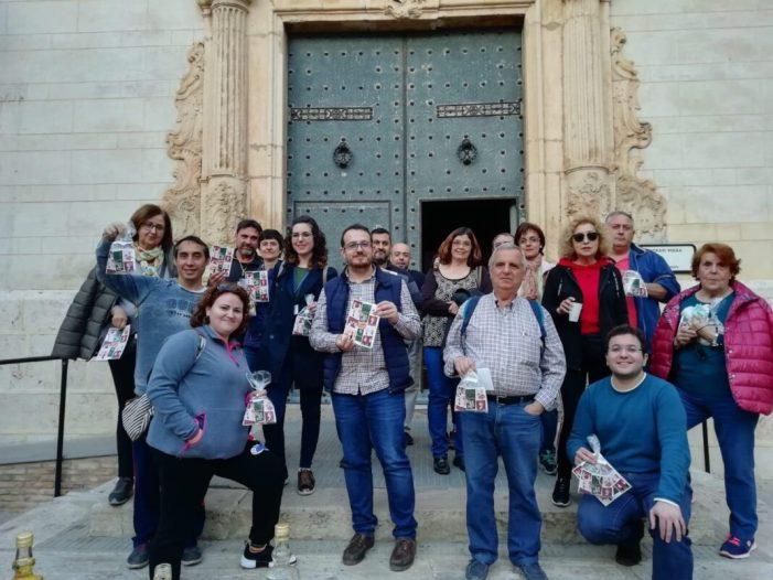 30 persones coneixen la Baixà de Santa Bàrbara de Catadau, a través del programa Rutes Turístiques Entre Comarques