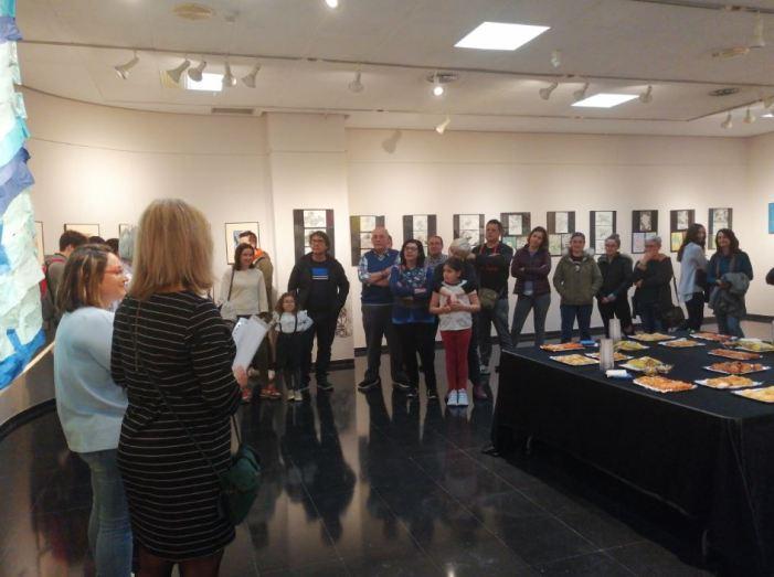 L'IES Almussafes inaugura 'Paisatges', la seua nova exposició