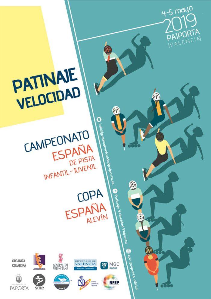 Paiporta acollirà el Campionat d'Espanya de patinatge de velocitat