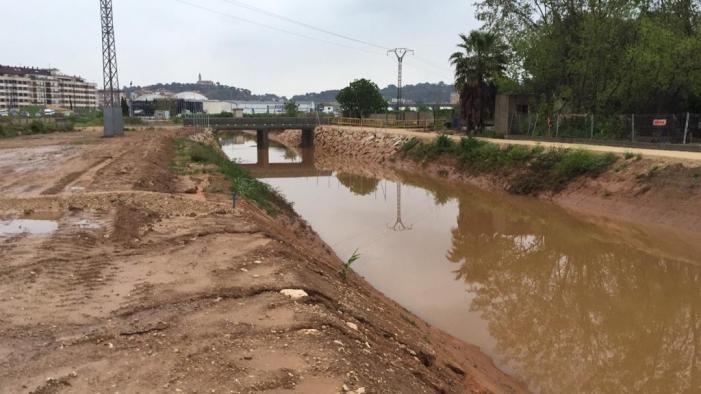 L'alcalde d'Alzira assegura que el canal de les Basses ha impedit la inundació dels barris més baixos
