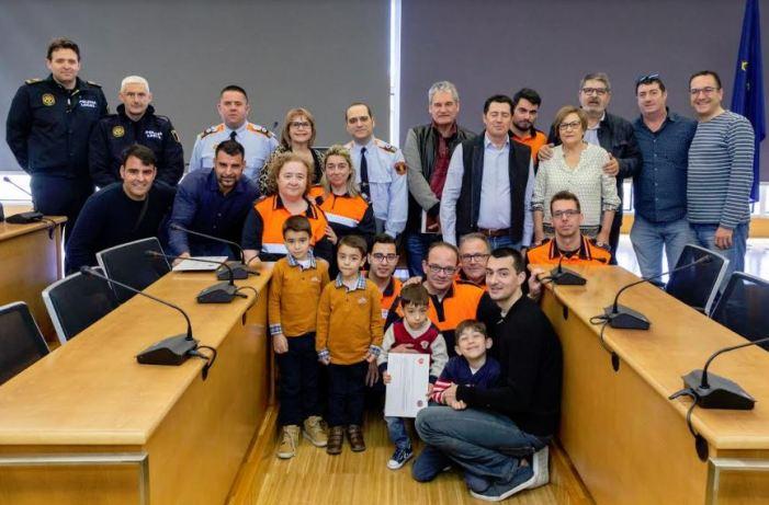 Protecció Civil Picassent reconeix la tasca dels seus voluntaris i voluntàries